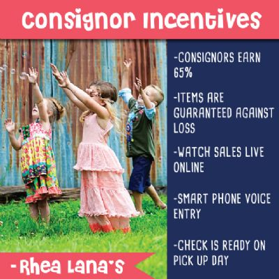 consignor incentives